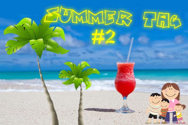 Le TAG de l'été de Wondermômes