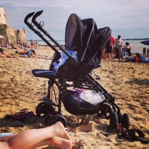 La Triocity nous a accompagnés même à la plage !