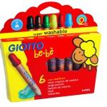Giotto Be-bè maxi crayons de couleur