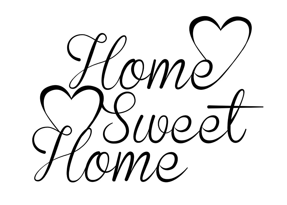 Home pas tout fait sweet home maman de ouistiti for Home wallpaper quotes