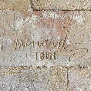 Y découvrir des graffitis d'un autre temps