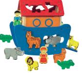 Lidl jouets en bois arche de noé