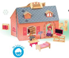 lidl jouets en bois maison de poup es maman de ouistiti. Black Bedroom Furniture Sets. Home Design Ideas
