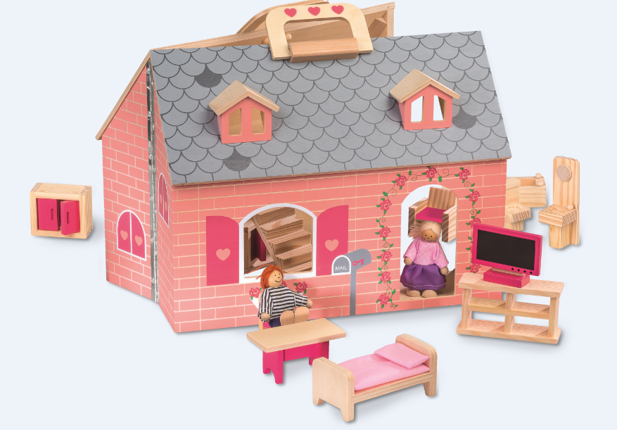 lidl jouets en bois maison poup es maman de ouistiti. Black Bedroom Furniture Sets. Home Design Ideas