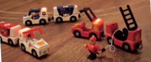 Lidl jouets en bois véhicules lumineux