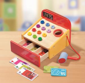 lidl jouets en bois caisse enregistreuse