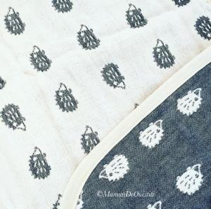 mille feuille de coton motifs