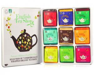 English tea shop coffret métal idées cadeaux