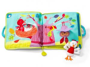 livre tissu forêt enchantée smart wonders ouvert