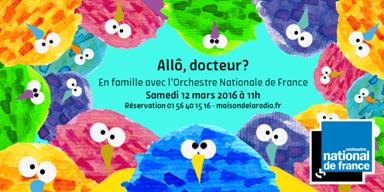 Allo Docteur ? Orchestre National de France