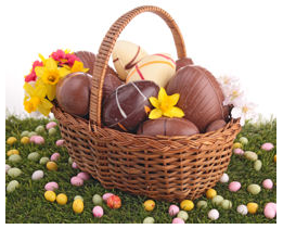 AFAO panier de chocolats