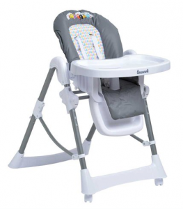Autour de Bébé Babybus Barbapapa - chaise haute
