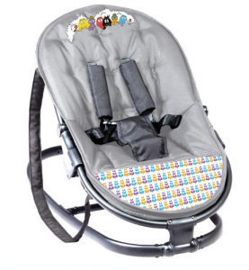 Autour de Bébé Babybus Barbapapa - transat