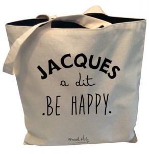 Fête des Mères - Marcel et Lily Tote Bag Jacques a dit