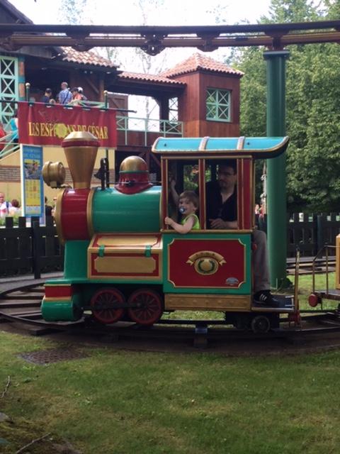 Astérix - Le petit train