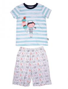 pyjama été petit béguin marin