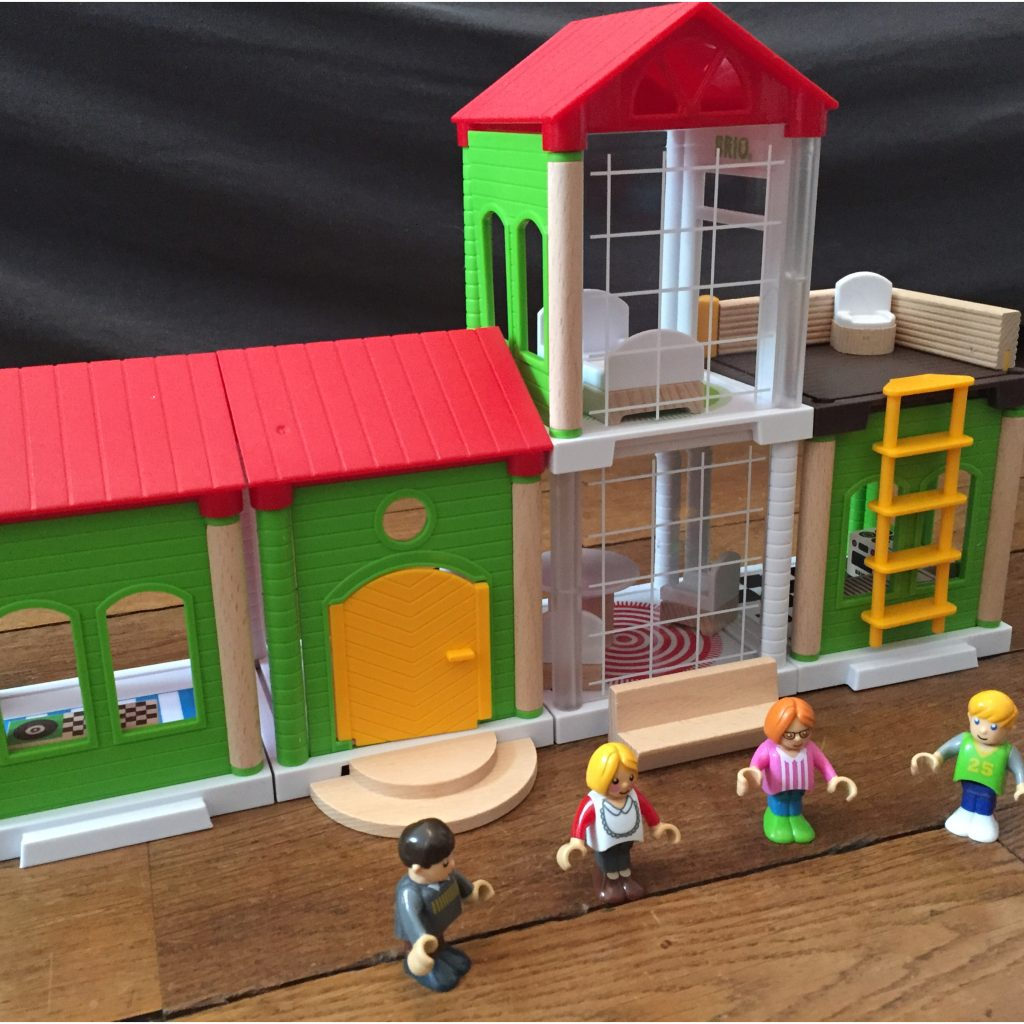 Maison Brio Village - Noël