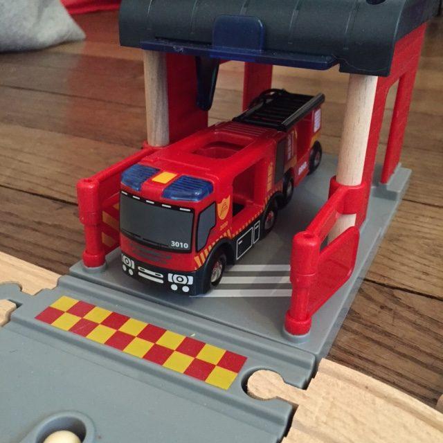 Noël - Grand circuit pompier Brio