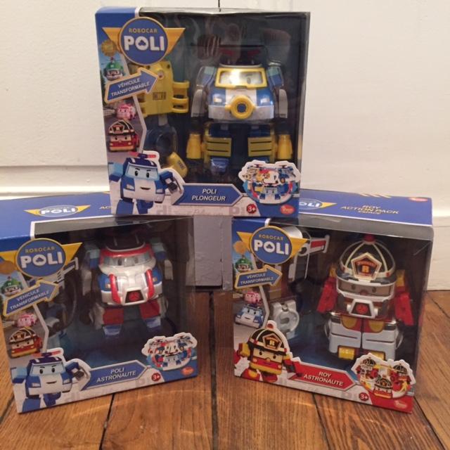 Noël - Robocar Poli - véhicule transformable