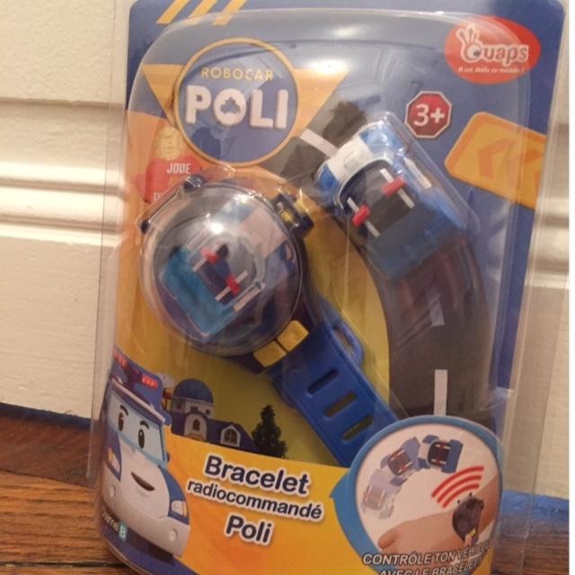 Noël - Robocar Poli - Bracelet Radiocommandé