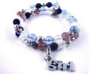 maman naturelle - st valentin - bracelet d'allaitement girl