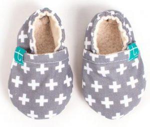 maman naturelle - st valentin - chaussons souples Titot bébé