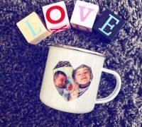 photobox - mug émaillé vintage - fête des mères