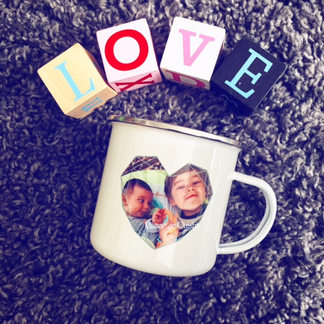 photobox - mug émaillé vintage - fête des mères-photo