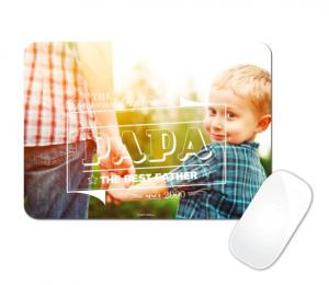 fête des pères - papas - planet photo - tapis de sourie