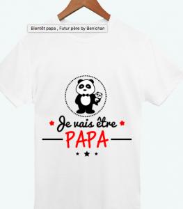 fête des pères - tunetoo - tshirt personnalisé