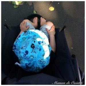 bébé en été - protéger de la chaleur - Margote