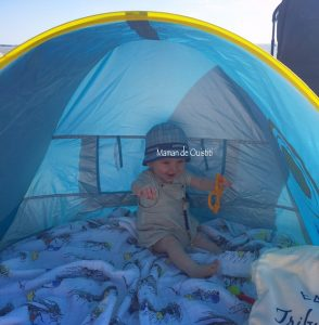 Fouras - vacances - tente anti uv Ludi