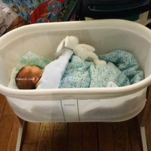 nuits de bébé - babybjorn - berceau de cododo