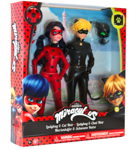 Noël - Ladybug - chat noir - bandai