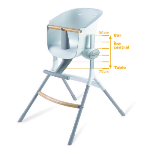 repas - béaba - chaise haute