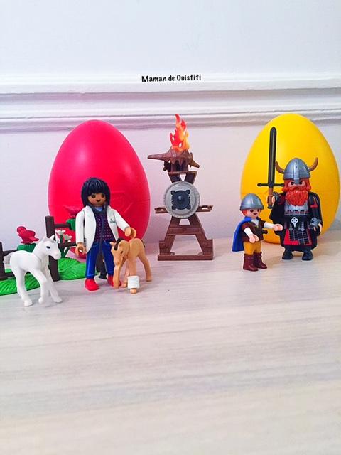 mars - pâques -playmobil