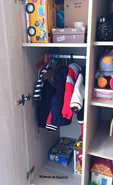 armoire - vêtements garçon - galipette