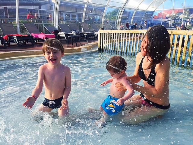 sandaya - camping - cote de nacre - piscine