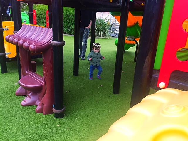 sandaya - camping cote de nacre - aire de jeux