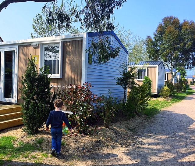 sandaya - camping cote de nacre - cottage - extérieur