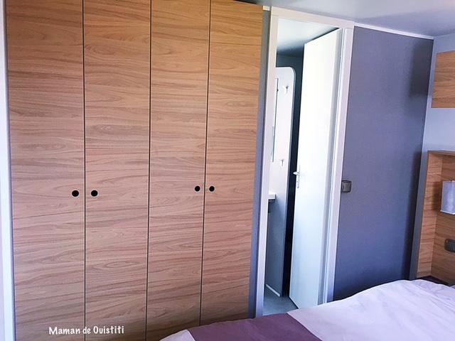 sandaya - camping cote de nacre - cottage - chambre