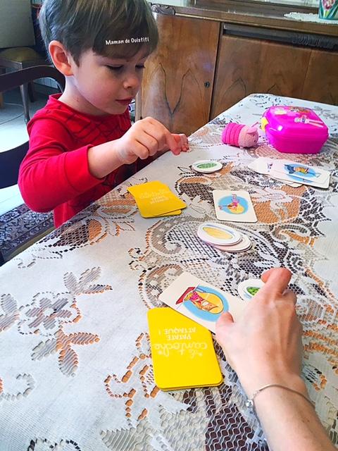 avril - Bayard jeux - la cantoche patate attaque