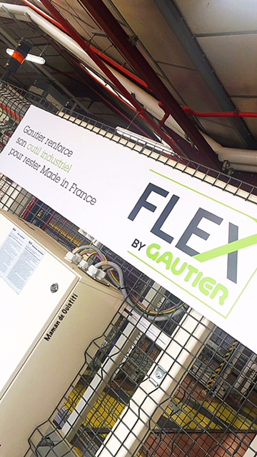 Gautier - ligne de production Flex