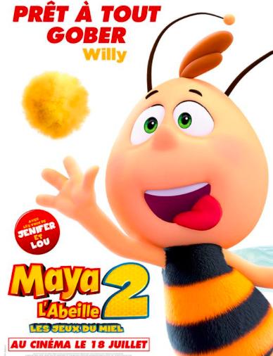Maya l'abeille 2 - Willy