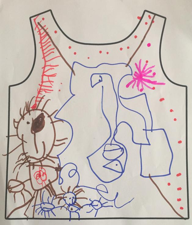 Fée Parmoha - t-shirt personnalisé