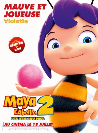 Maya l'abeille 2 - Violette
