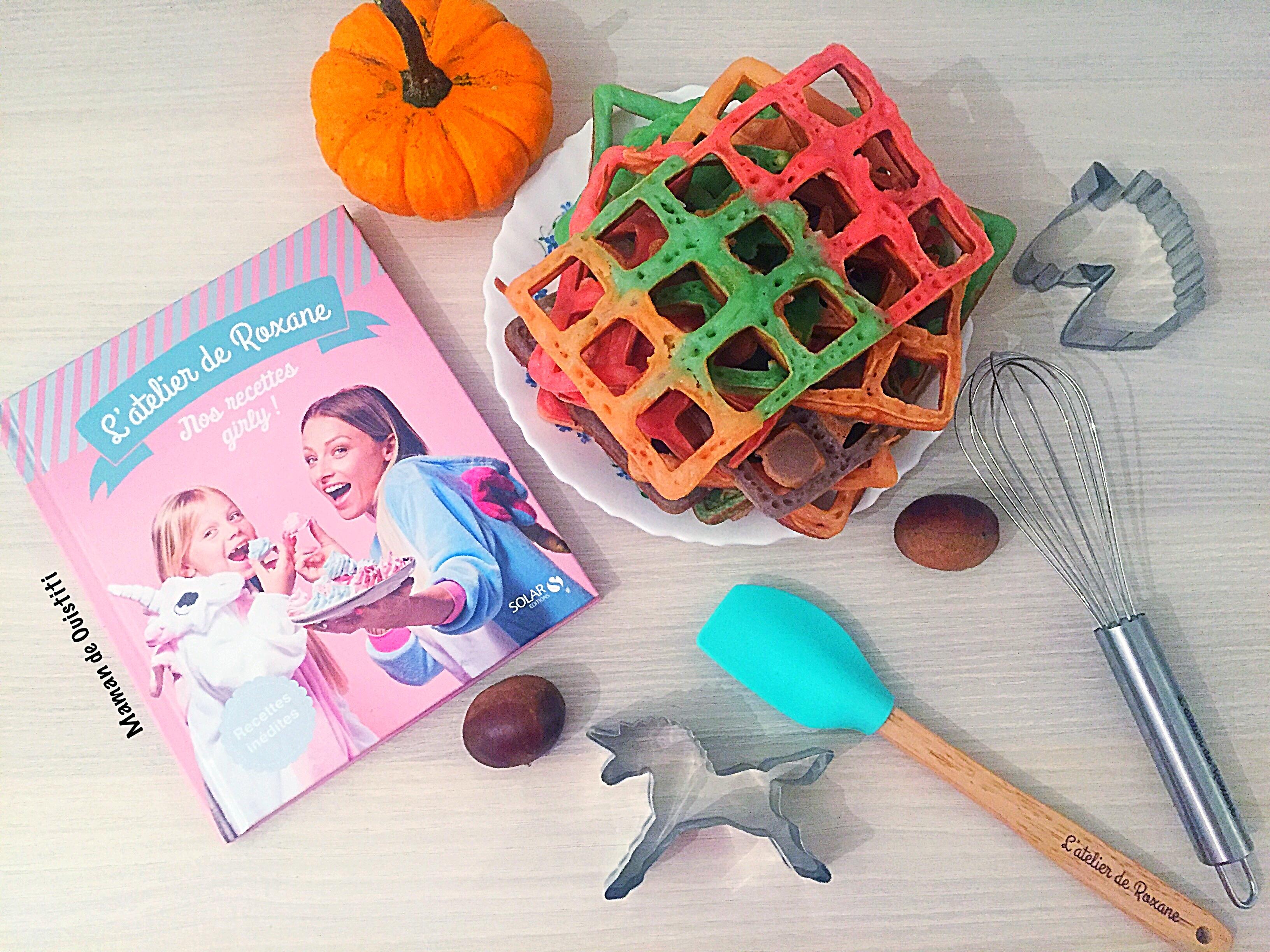 l'atelier de Roxane - Halloween - gaufres