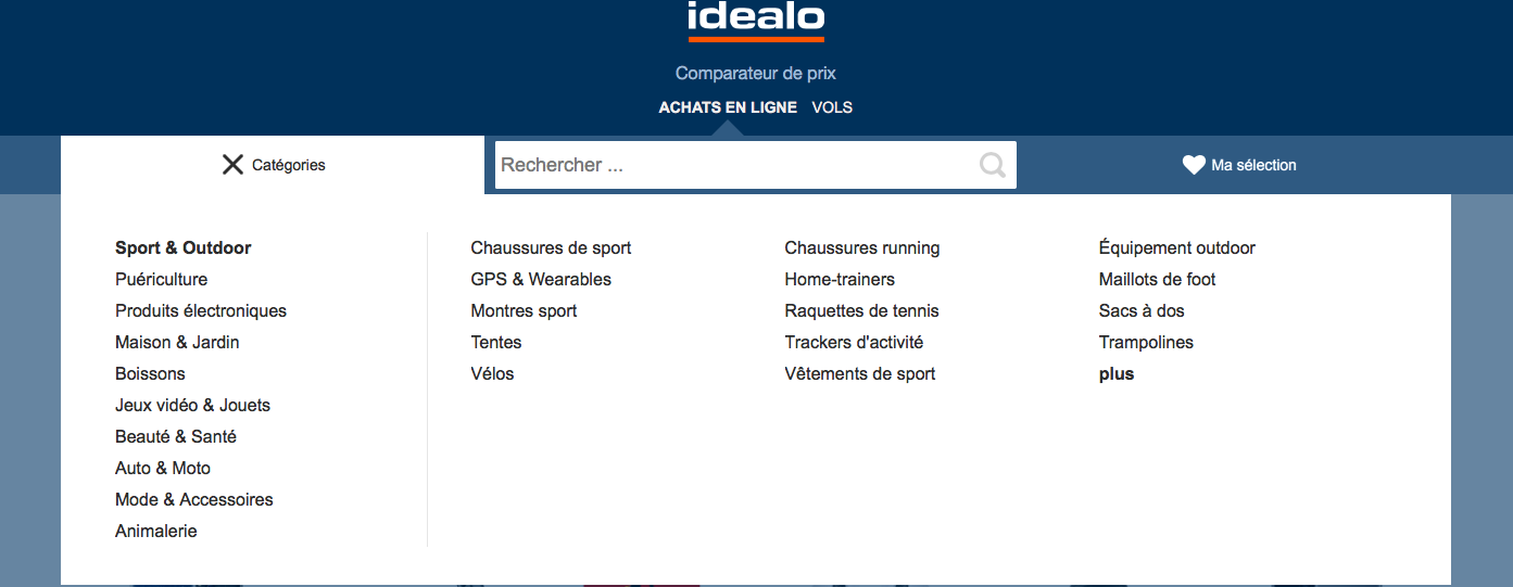 idealo - comparateur - shopping - noel