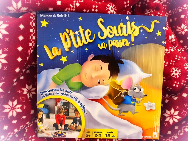 wishlist - Noël - dujardin - la petite souris va passer