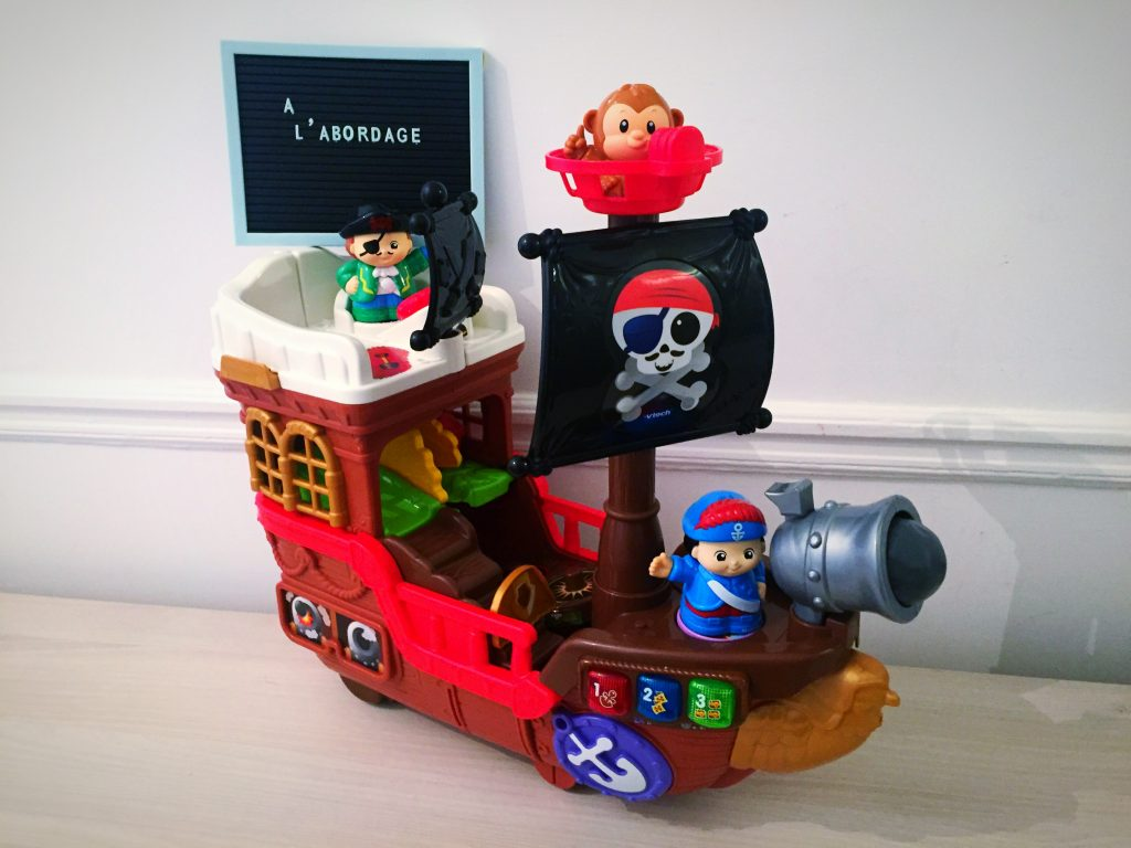 Noel - wishlist - vtech - bateau pirate